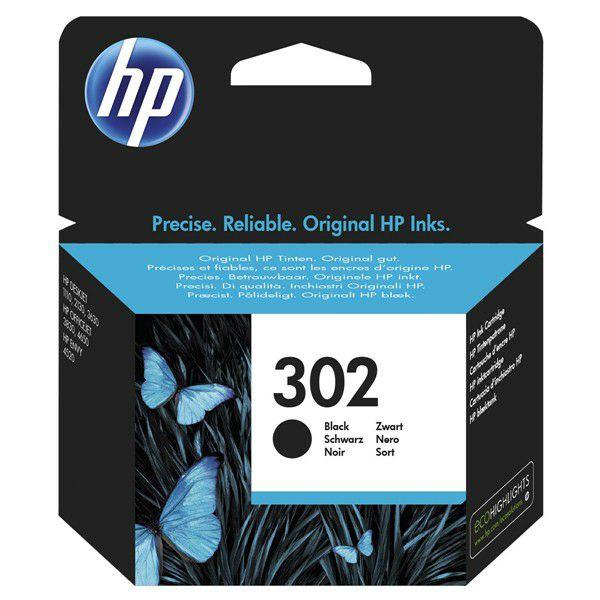 HP F6U66AE No.302 Black Originalna tinta