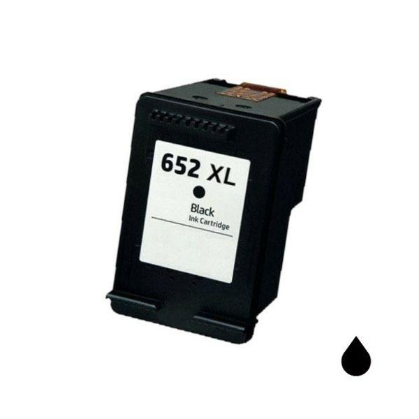 HP F6V25AE NO.652XL BLACK ZAMJENSKA TINTA