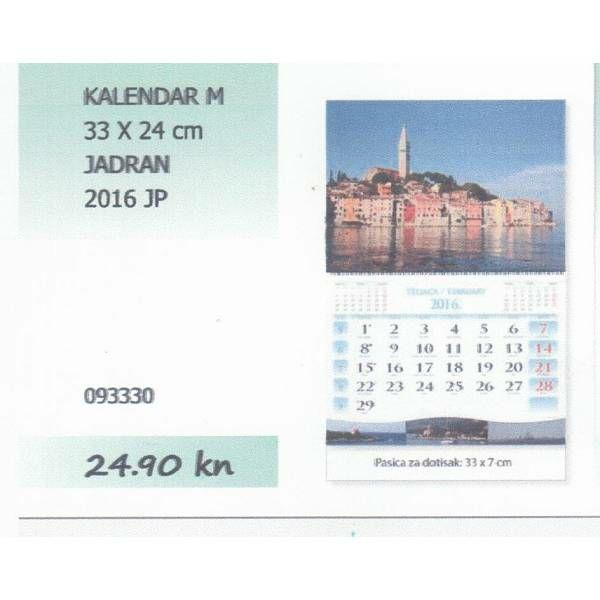 Kalendar 2015 DVIJEĆE JP M 33x24