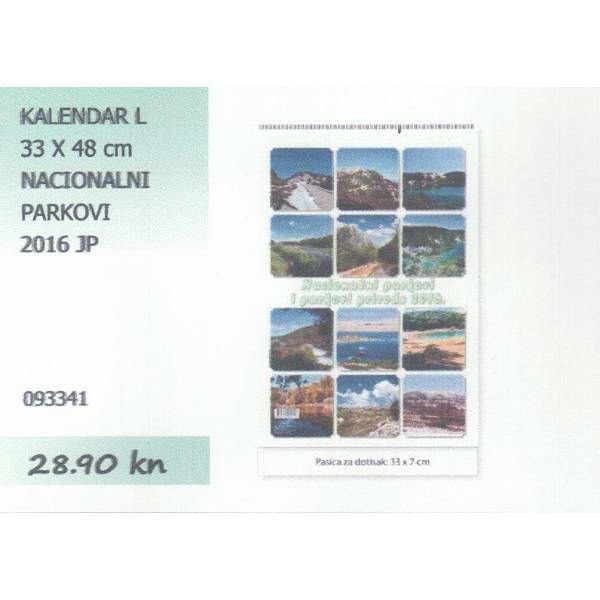 Kalendar 2015 Nacionalni parkovi JP (L)