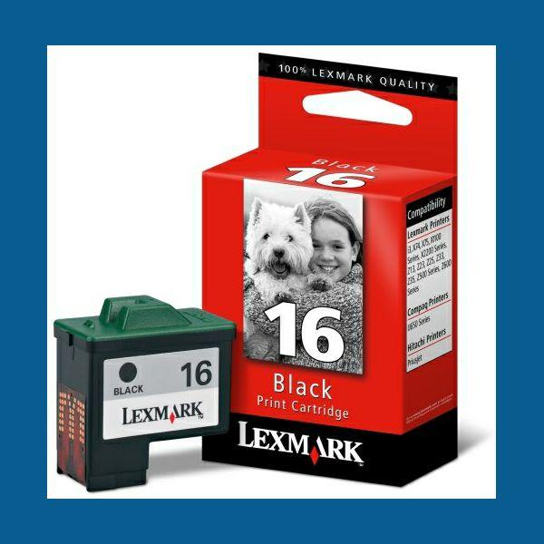 LEXMARK 10N0016E 16 BLACK TINTA