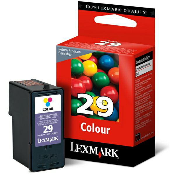 LEXMARK 18C1429E 29 COLOR TINTA