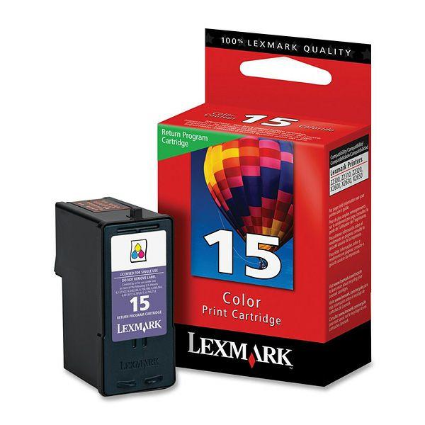 LEXMARK 18C2110E 15 COLOR TINTA