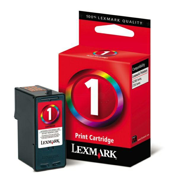 LEXMARK 18CX781E no.1 COLOR TINTA