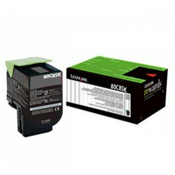 Lexmark 808SK 80C8SK0 Black originalni toner