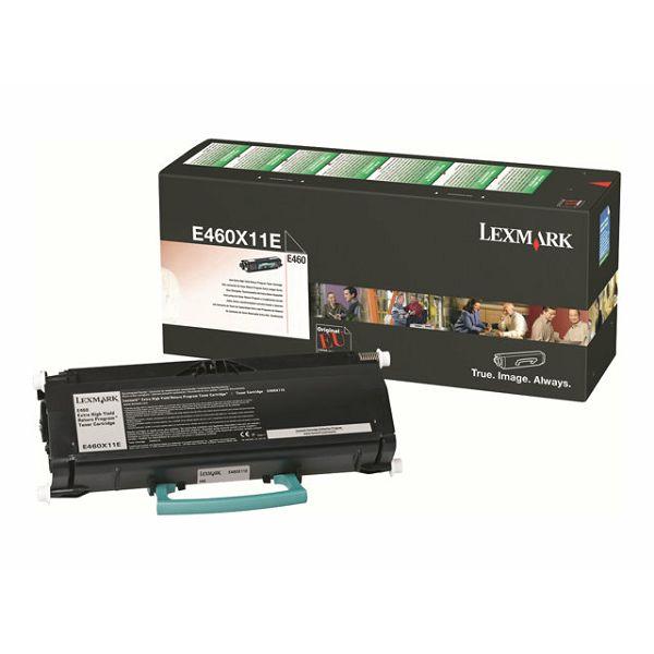 LEXMARK E460 XL E460X11E BLACK ORGINALNI TONER