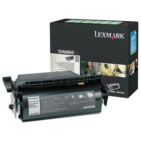 LEXMARK T62xXL 12A6865 BLACK ORGINALNI TONER