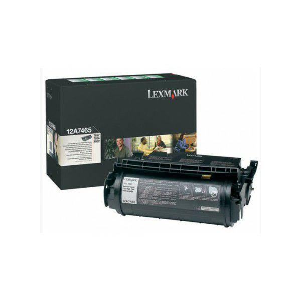 LEXMARK T63xXXL 12A7465 BLACK ORGINALNI TONER