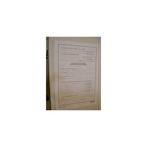 Obrazac ugovor o najmu UT-I-416
