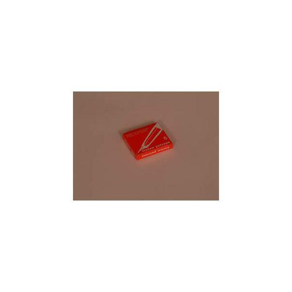Patrone za nalivpero Rexpen crvene