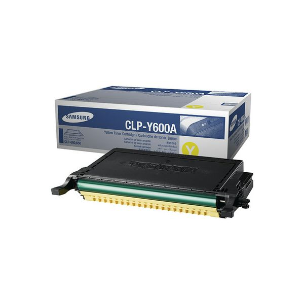 Samsung CLP-Y600A Yellow Originalni toner