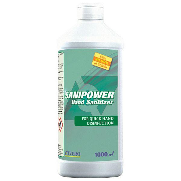 Sredstvo - Sanipower - za dezinfekciju ruku 1L