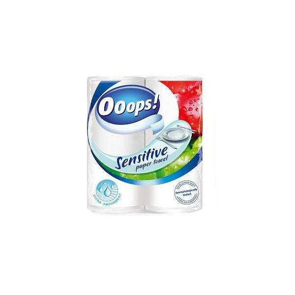Toaletni ubrusi 2/1 Ooops Sensitive