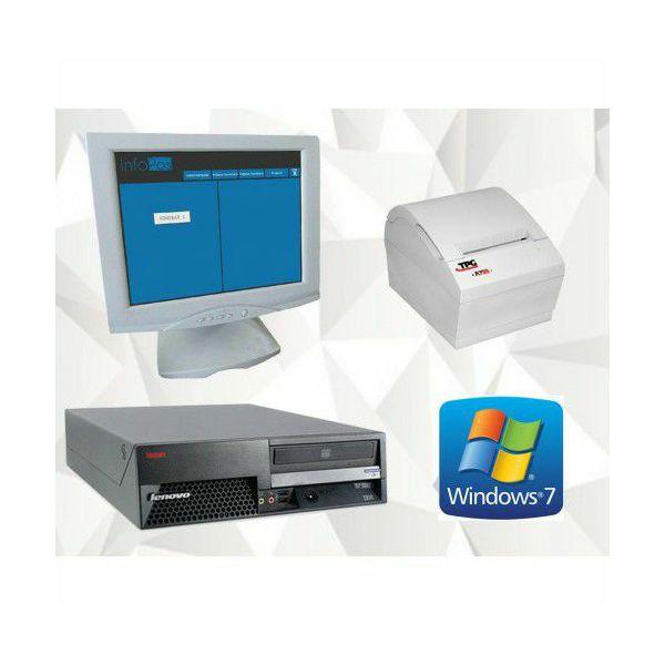 Touchscreen fiskalna blagajna (Lenovo M55e, Fujitsu Touch, TPG-A795 termalni pisač...)