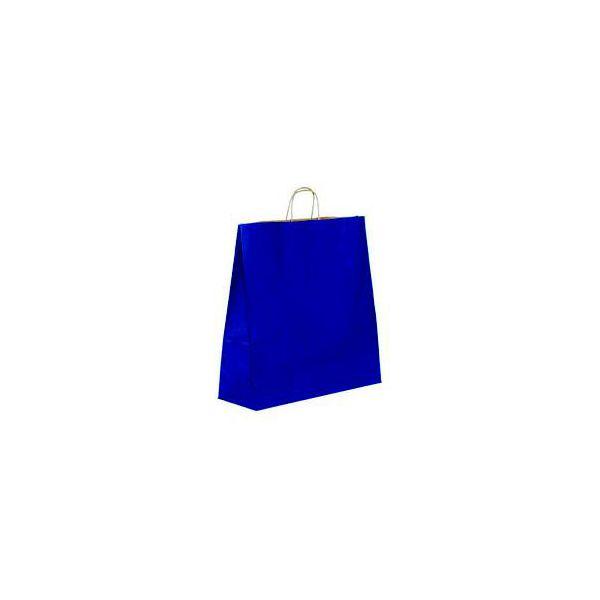 Vrećica pletena ručka S plava