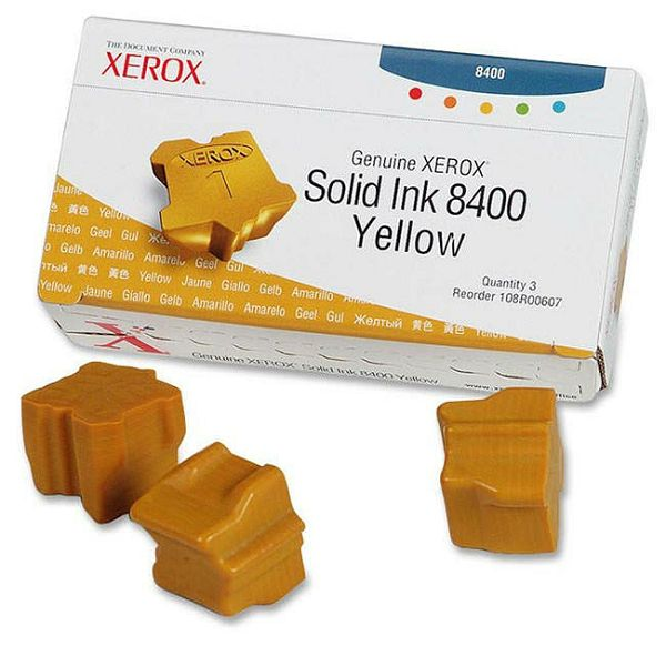Xerox Phaser 8400 Yellow Orginalni toner